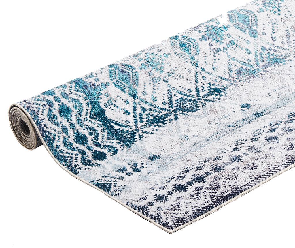 Kilim Ivory Aqua Szőnyeg 80x150 cm