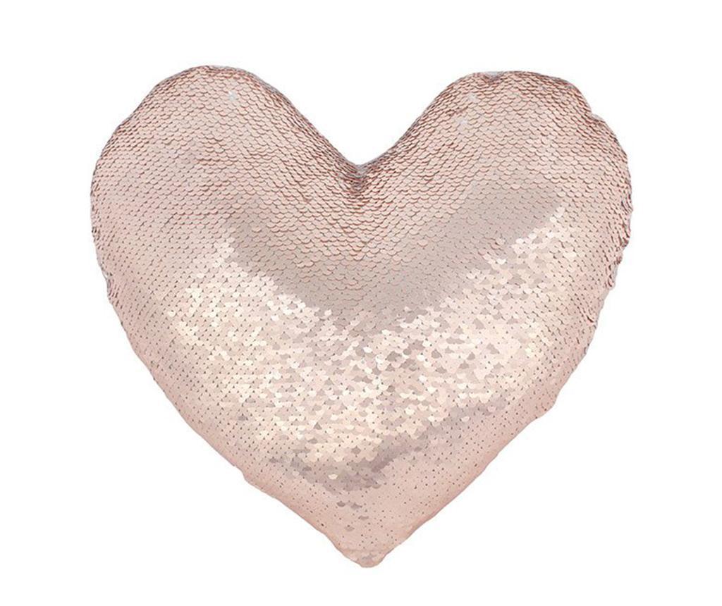 Ukrasni jastuk Reversible Heart 26x33 cm