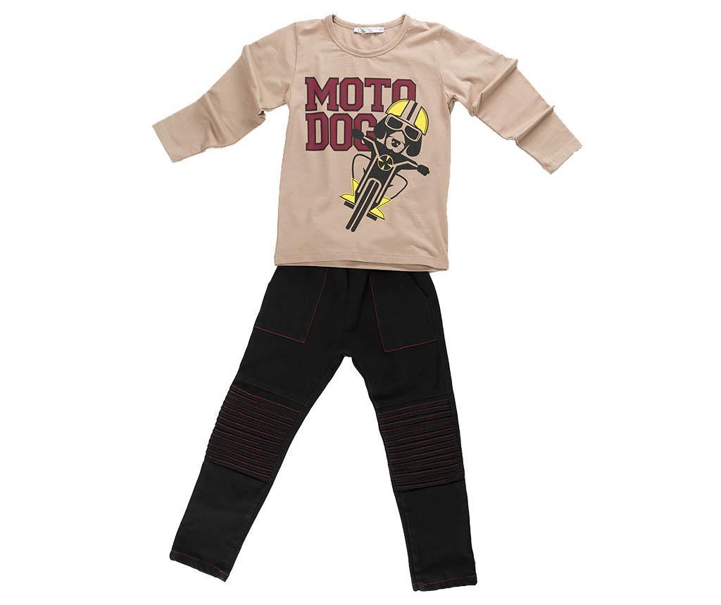 Set bluza si pantaloni copii Motodog Baggy 7 ani