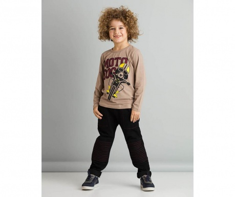 Set bluza si pantaloni copii Motodog Baggy 5 ani