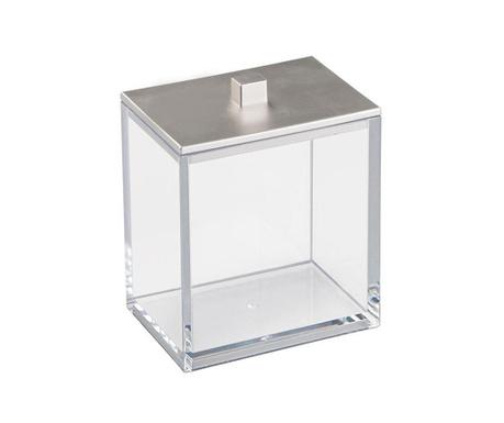 Кутия с капак Clarity Silver