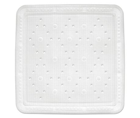 Covoras de cabina de dus Kreta White 55x55 cm