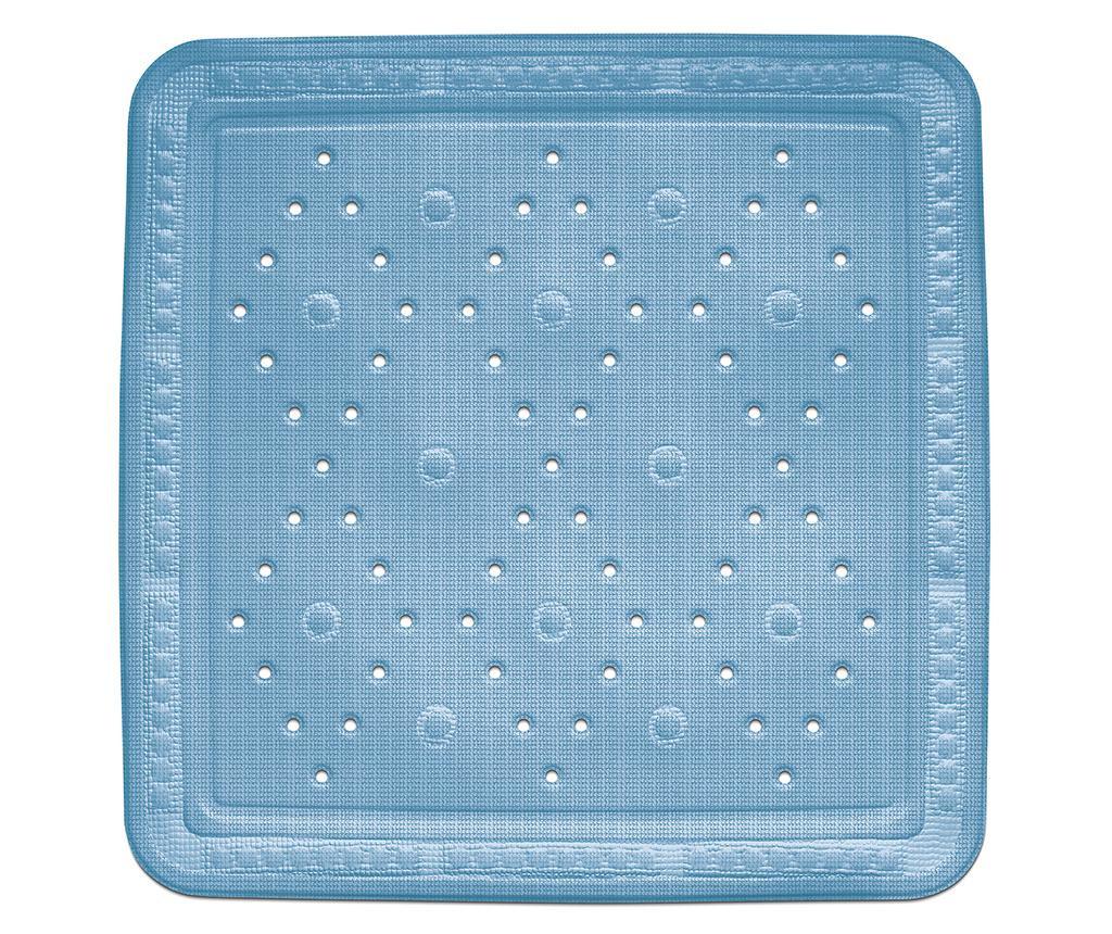 Kreta Blue Zuhanyszőnyeg 55x55 cm