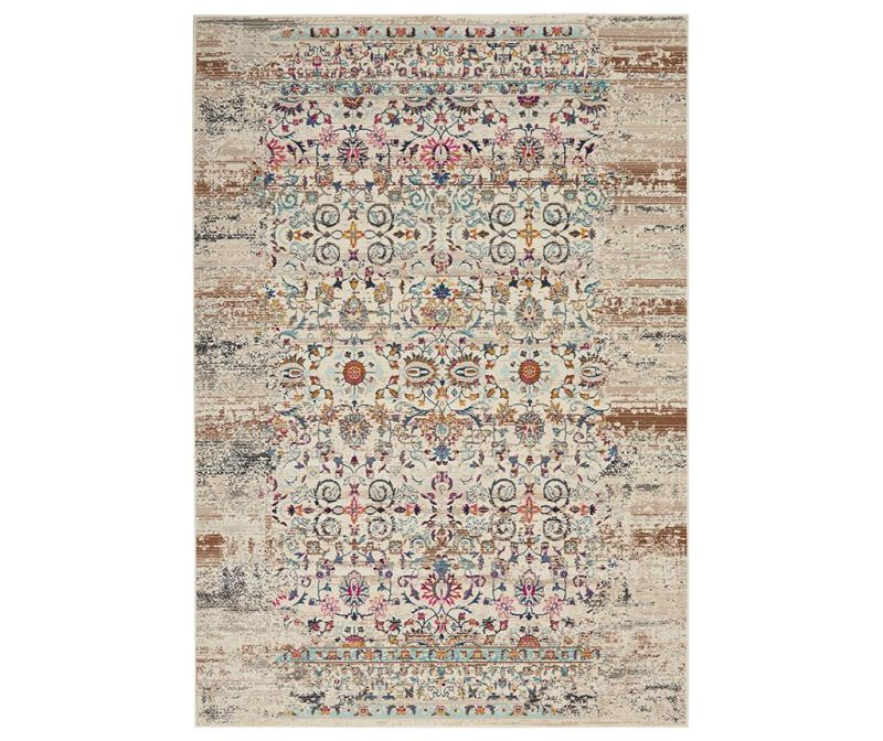 Tepih Flower River Cream 160x239 cm