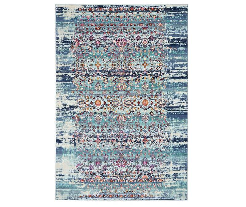 Tepih Flower River Blue 122x122 cm