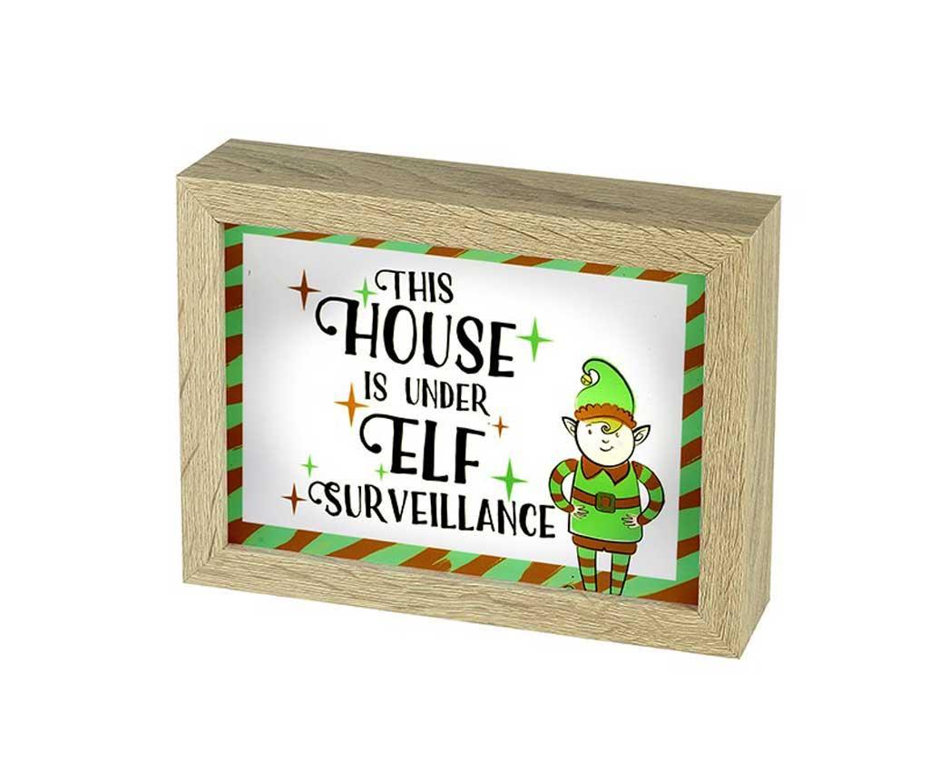 Decoratiune luminoasa Elf Surveillance