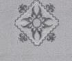 Set 4 prosoape si 2 halate de baie Nakisli Aile  Powder Grey One