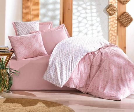 Спален комплект King Ranforce Best  Pink