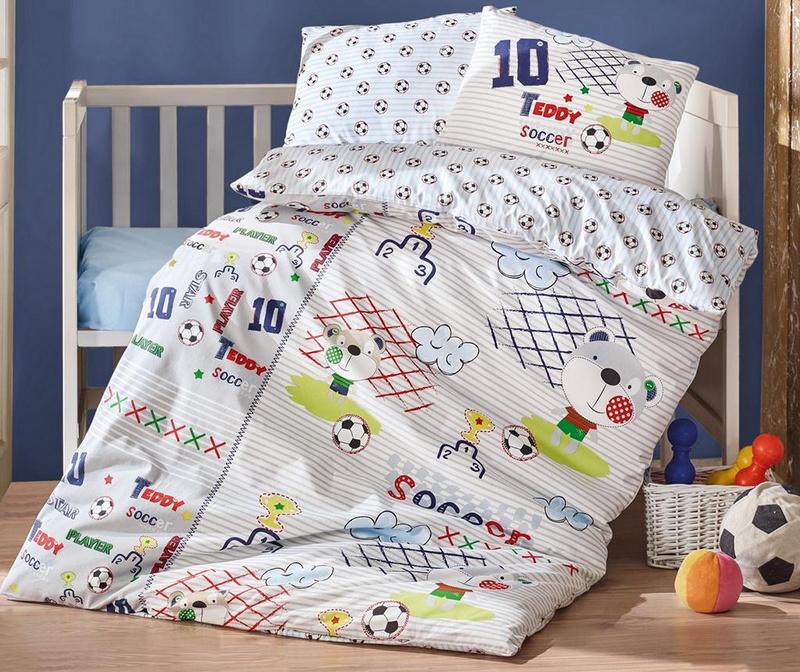 ThreeL Bubbles 100/% Cotton Ranforce  Bed linen Duvet Cover Set