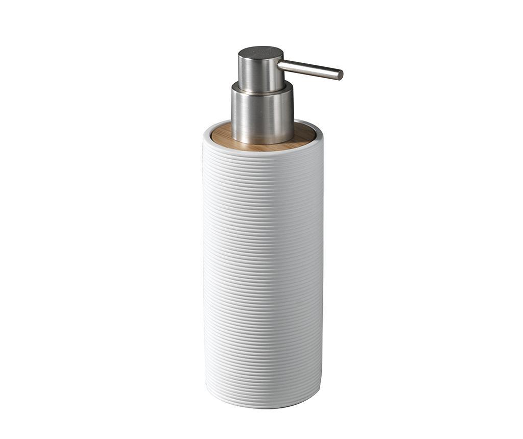 Dávkovač tekutého mýdla Lines White 200 ml