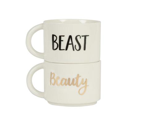 Set 2 skodelic Beauty and Beast