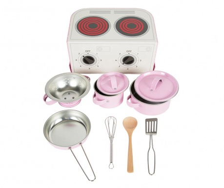10-delni igralni set za kuhanje Kids Lunch