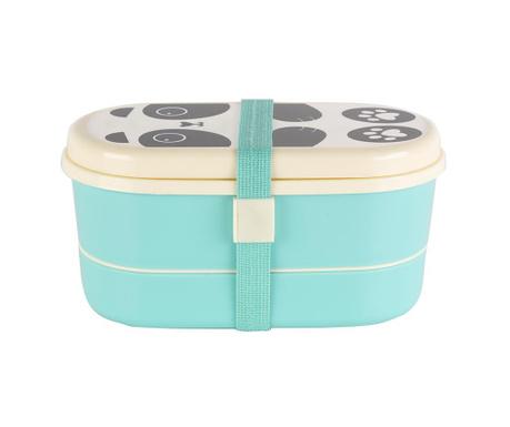 Škatla za kosilo s kosi jedilnega pribora Aiko Panda