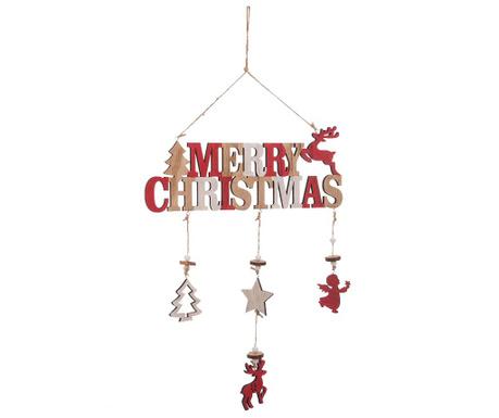 Viseći ukras Merry Christmas