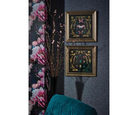 Stenska tapeta Akira Indigo 53x1005 cm