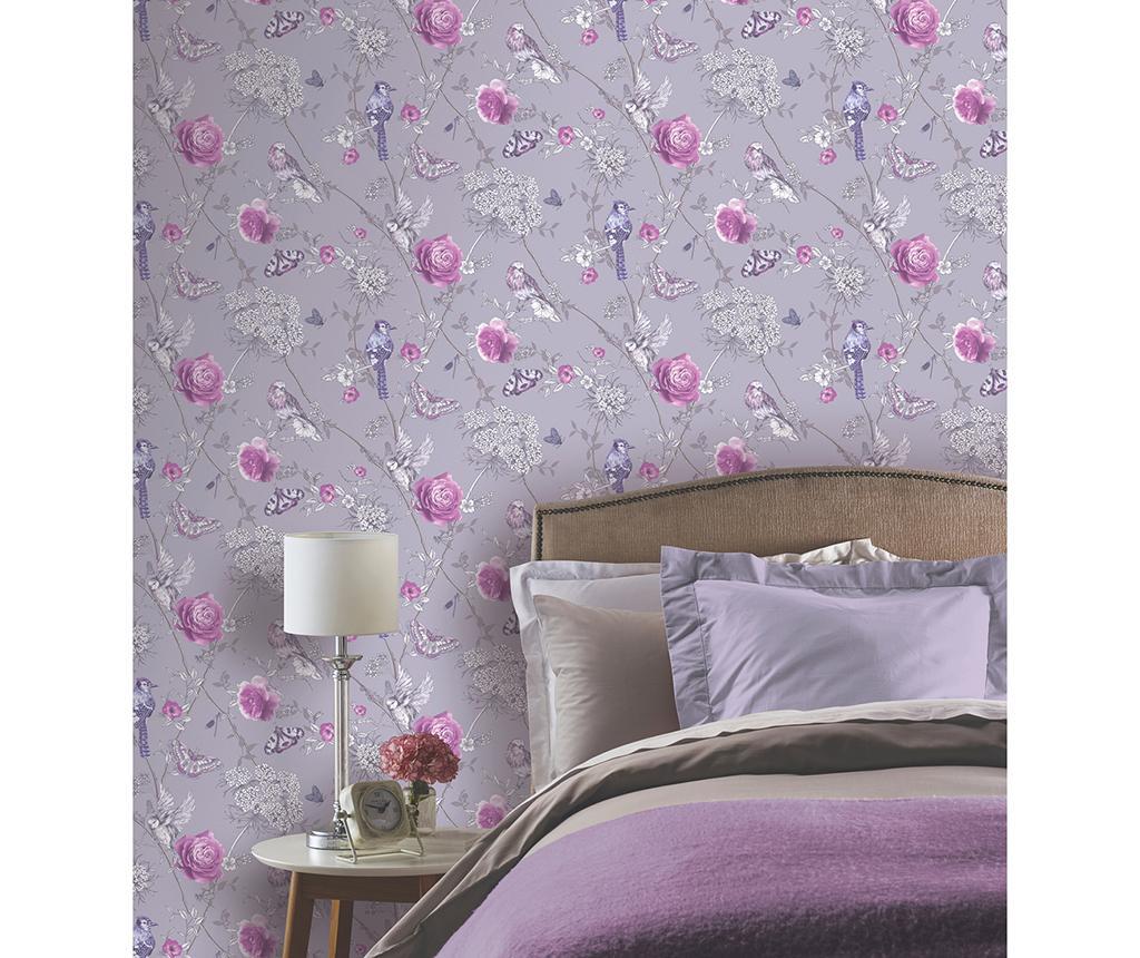 Paradise Garden Lilac Tapéta 53x1005 cm