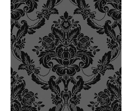 Stenska tapeta Palais Black Velvet 53x1005 cm