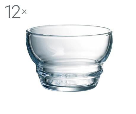 Set 12 skodelic za prigrizke Equinoxe 110 ml