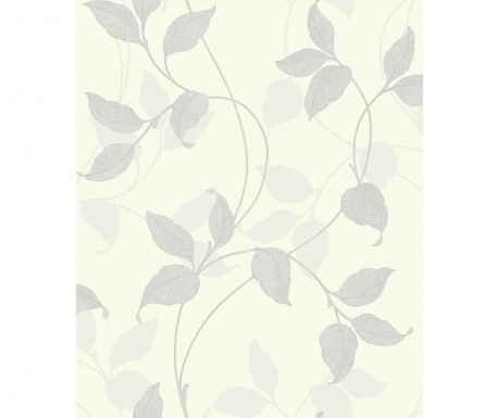 Tapeta Capriata Ice White 53x1005 cm