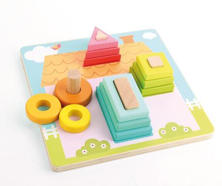 Zabawka edukacyjna Geo House
