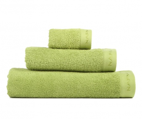 Set 3 prosoape de baie Casual Green