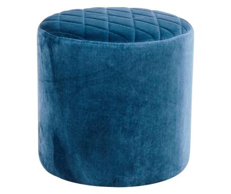 Taboret Ejby Velvet Dark Blue