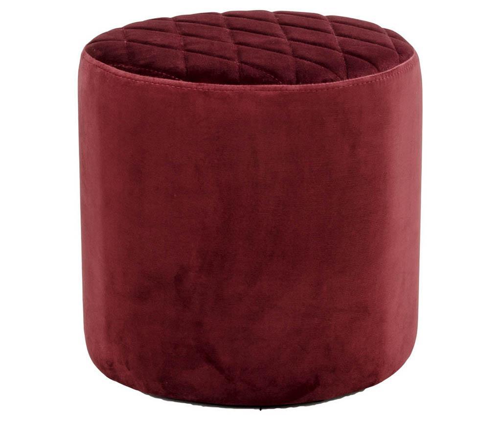 Taburetka Ejby Velvet Red