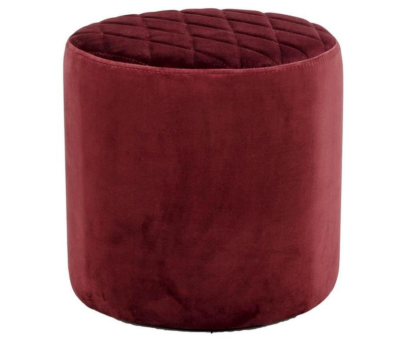 Табуретка Ejby Velvet Red