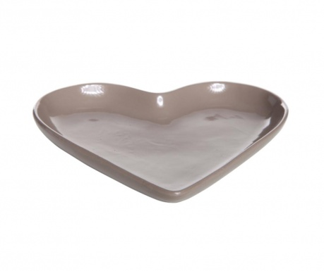 Patera Heart Taupe