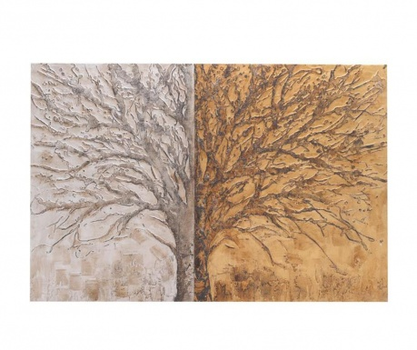 Slika Two Side Trees 100x150 cm