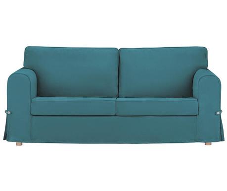 Canapea extensibila 3 locuri Morgane Turquoise
