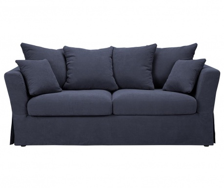 Canapea extensibila 3 locuri Helene Dark Blue