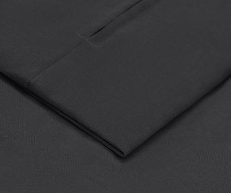 Prevleka za raztegljiv trosed Philippe Dark Grey 90x207 cm