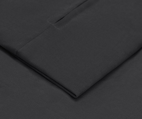 Prevleka za fotelj Casper Dark Grey 72x79 cm