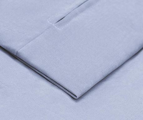 Калъф за разтегателно триместно канапе Helene Blue 100x194 см
