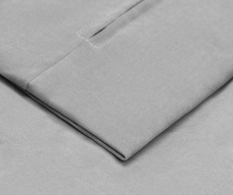 Husa pentru coltar stanga Helene Light Grey 177x271 cm