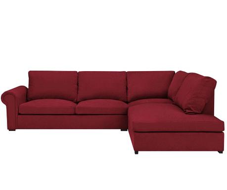 Десен ъглов диван Antoine Red