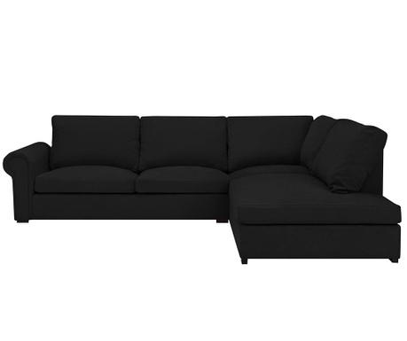 Десен ъглов диван Antoine Black