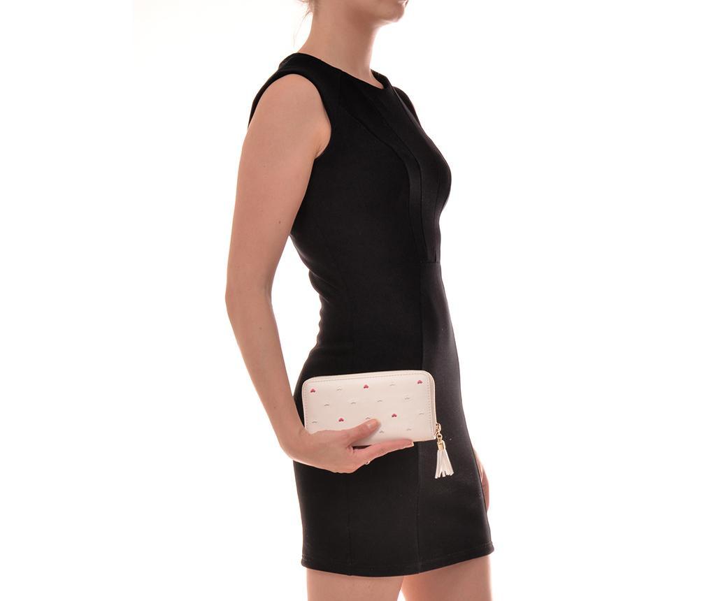 Megan White Clutch táska