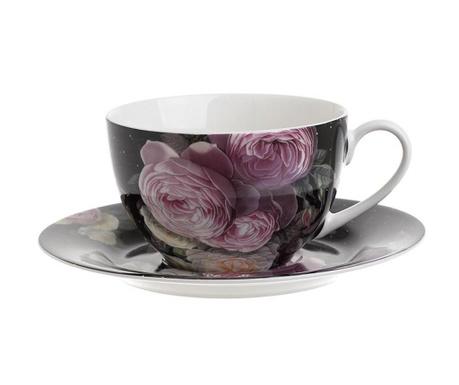Zestaw 6 filiżanek i 6 talerzyków Judd Tea