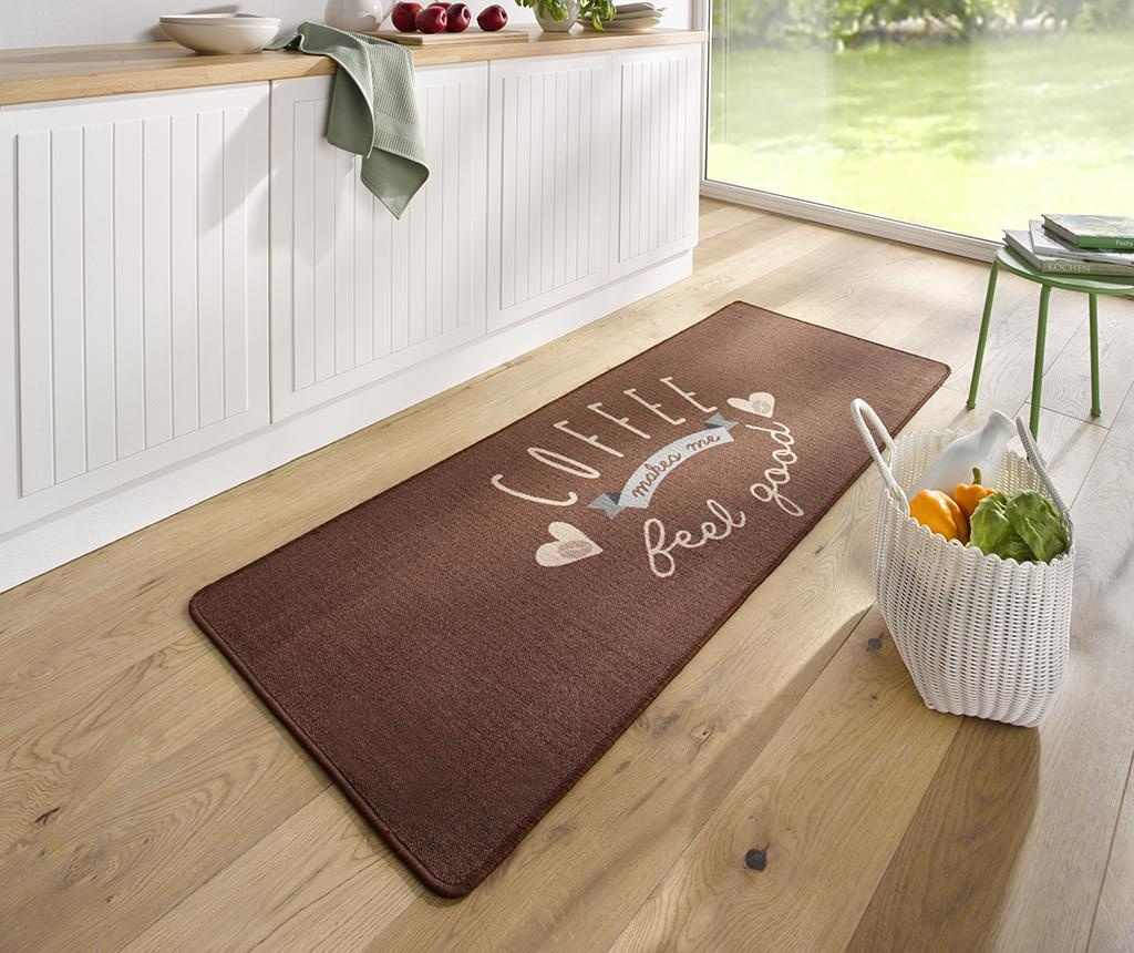 Covor Kitchen Runner Coffee 67x180 cm