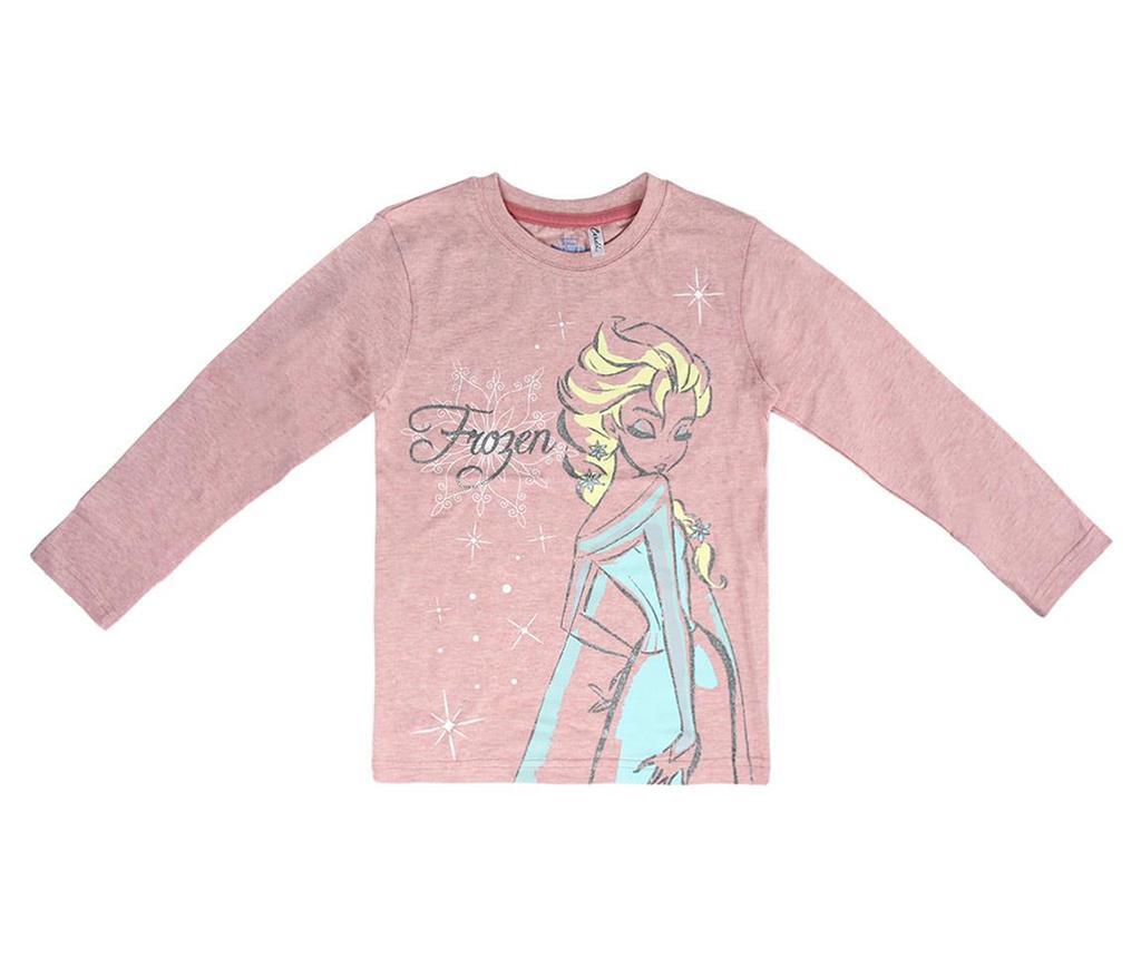 Otroška majica z dolgimi rokavi Frozen Elsa 4 let