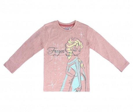 Bluza cu maneca lunga copii Frozen Elsa 4 ani