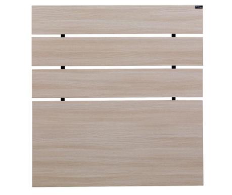 Tablie de pat Fuga Oak Cream 100x100 cm