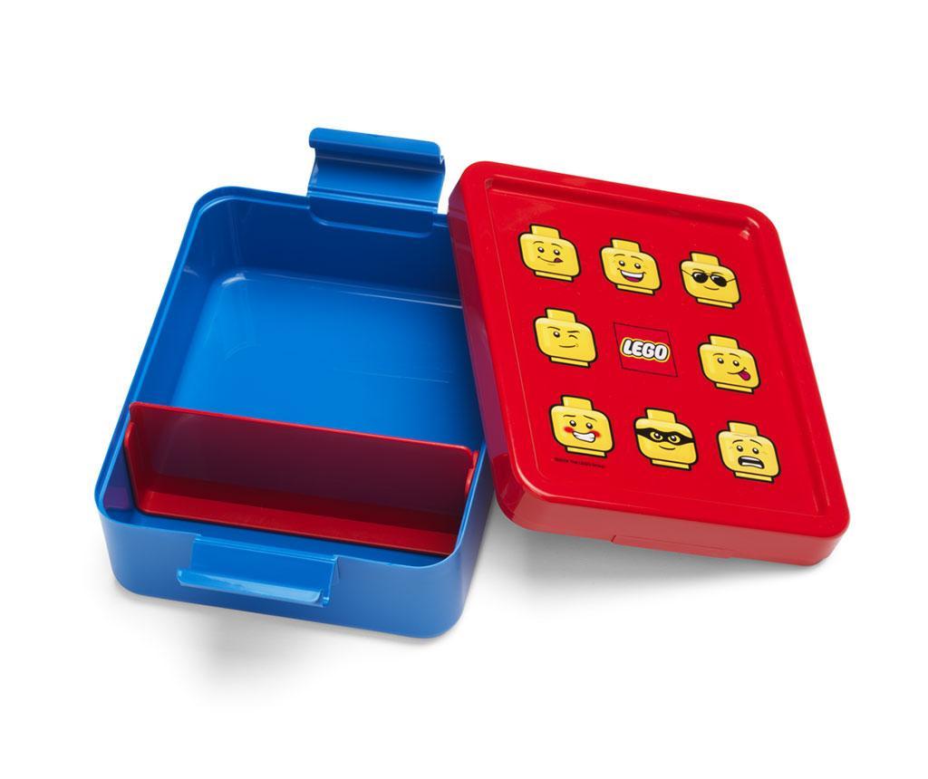 Classic Blue Uzsonnás doboz és sportpalack