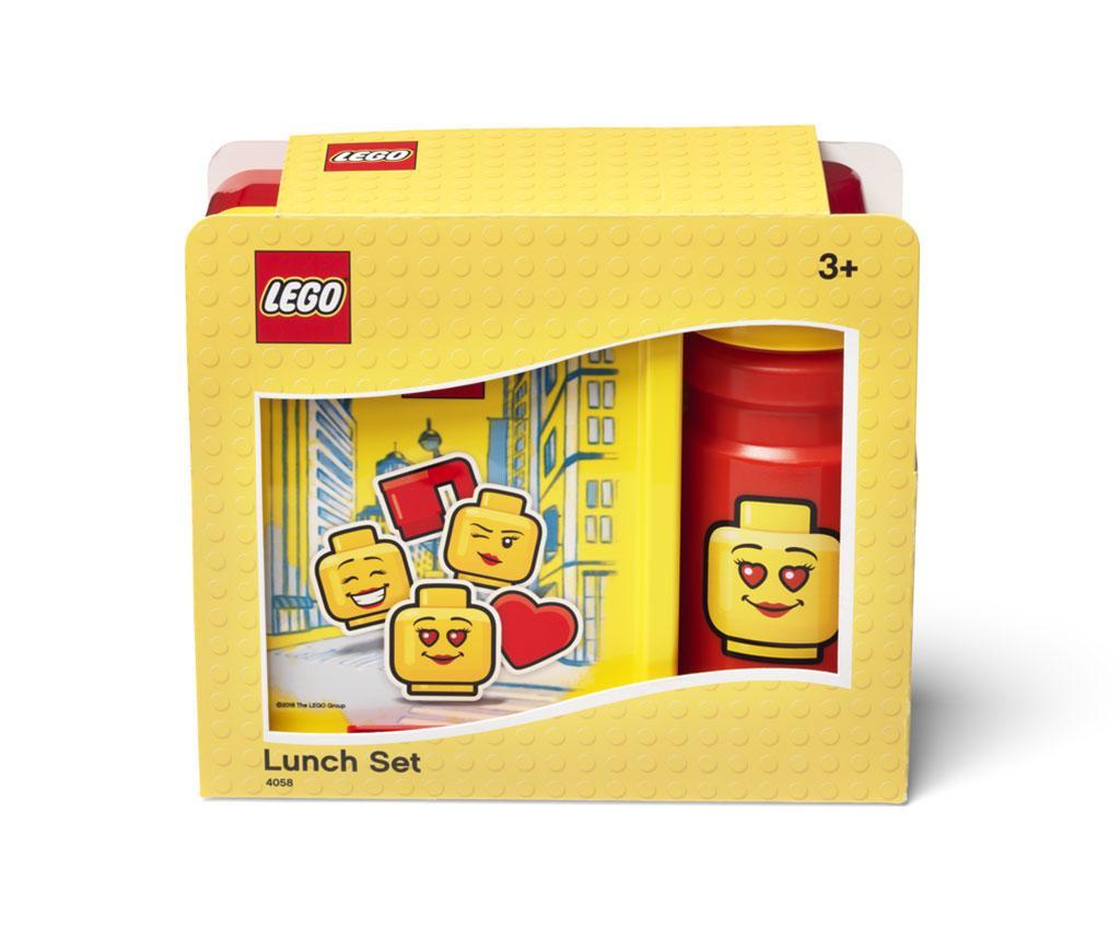 Red Girl Uzsonnás doboz és sportpalack