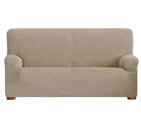 Husa elastica pentru canapea Dorian Tan 210-240 cm