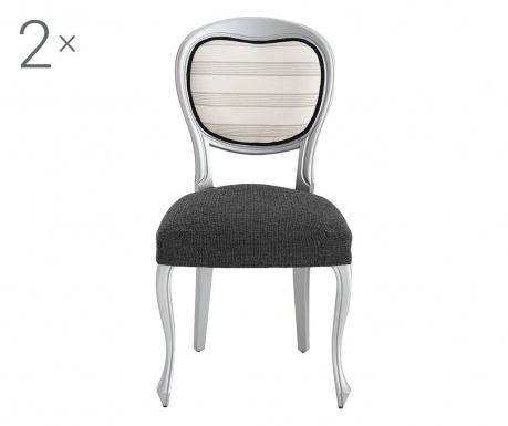 Sada 2 poťahy na stoličky Dorian Grey