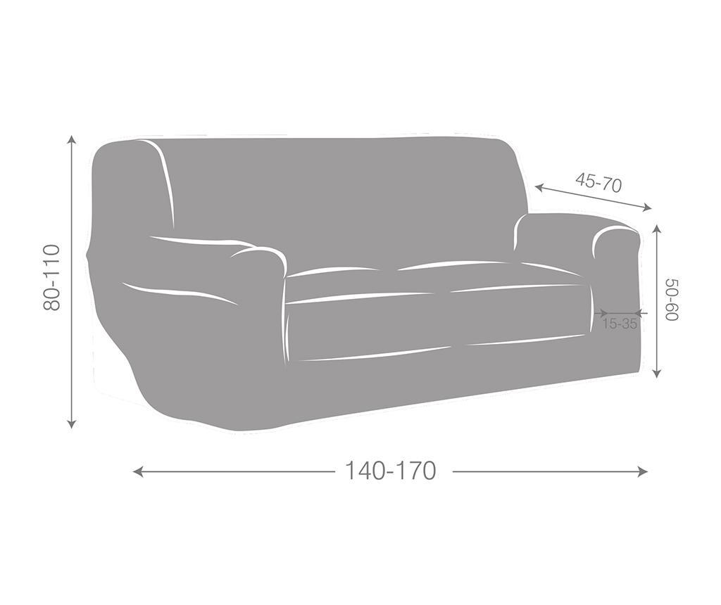 Dorian Tan Elasztikus huzat kanapéra 140-170 cm