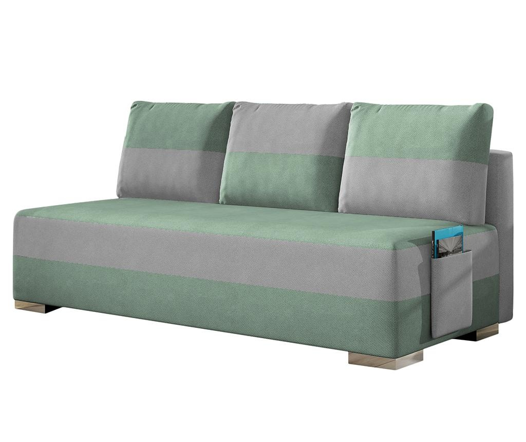 Kauč na razvlačenje Atila Grey Green